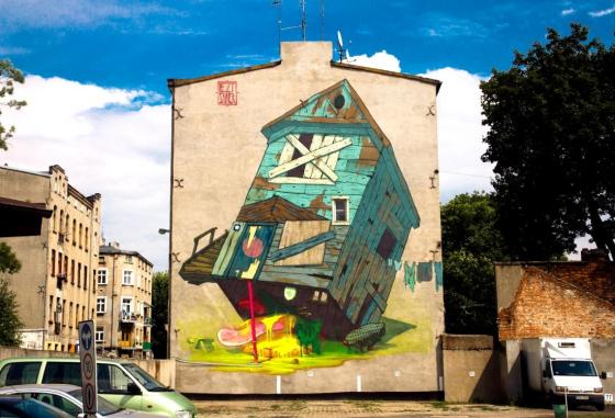 3-Galeria-Urban-Art-Forms-in-Lodz-Poland_-By-Aryz-Etam-Cru